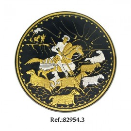 Damascene Don Quixote's Revenge Collectible Dish