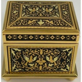 Jewelry Box Square-Damascene Design