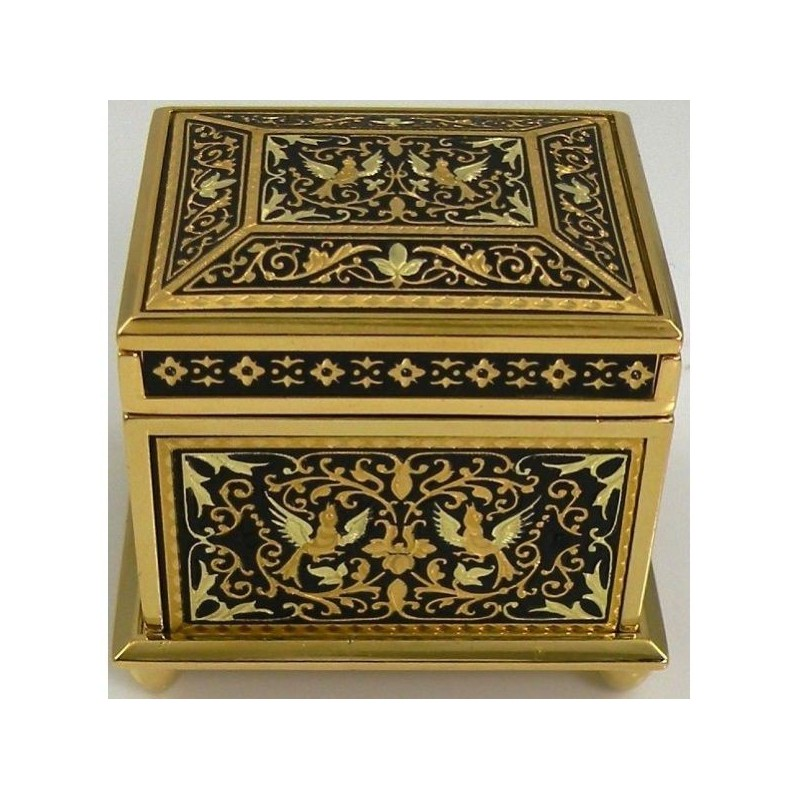 Box SquareDamascene Design