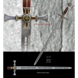 Damascus Templar Sword