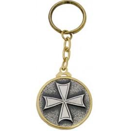 Hospitaller Order Cross Keychain