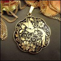 Damascene jewelry Catalog - Fashion jewelry, damascene art and gifts, collectible plates.
