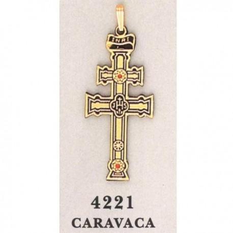 Caravaca Cross-Christian Cross 24K Gold