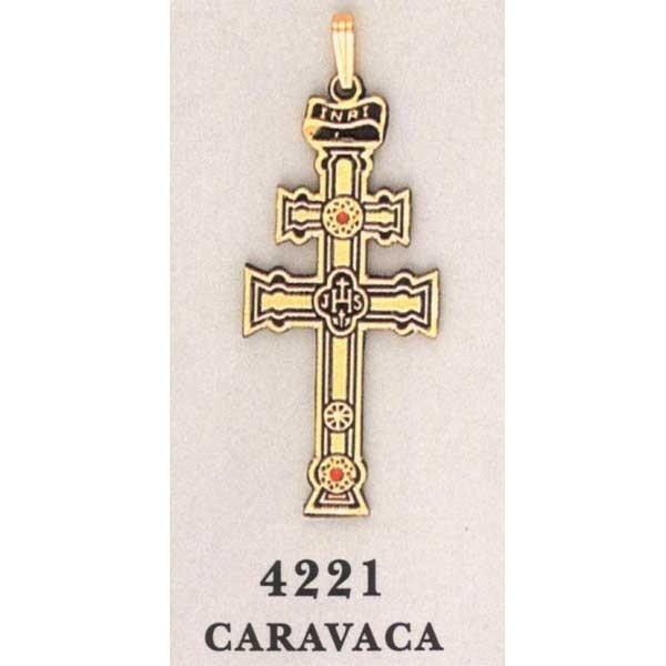 Caravaca cross christian cross 24k gold aloadofball Images