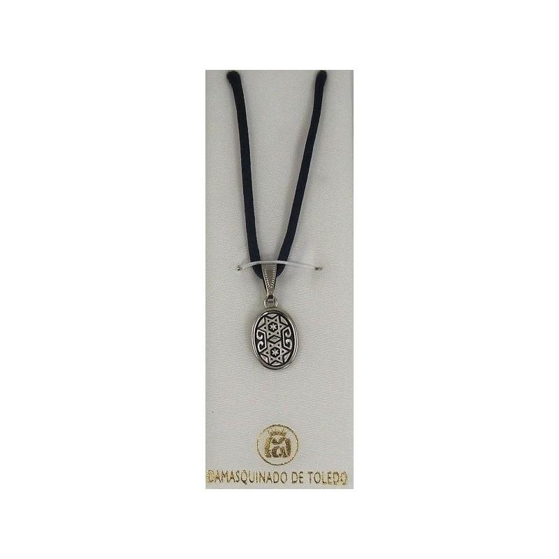 Damascene silver star of david pendant 9212 damascene jewelry store damascene silver star of david pendant 9212 aloadofball Choice Image