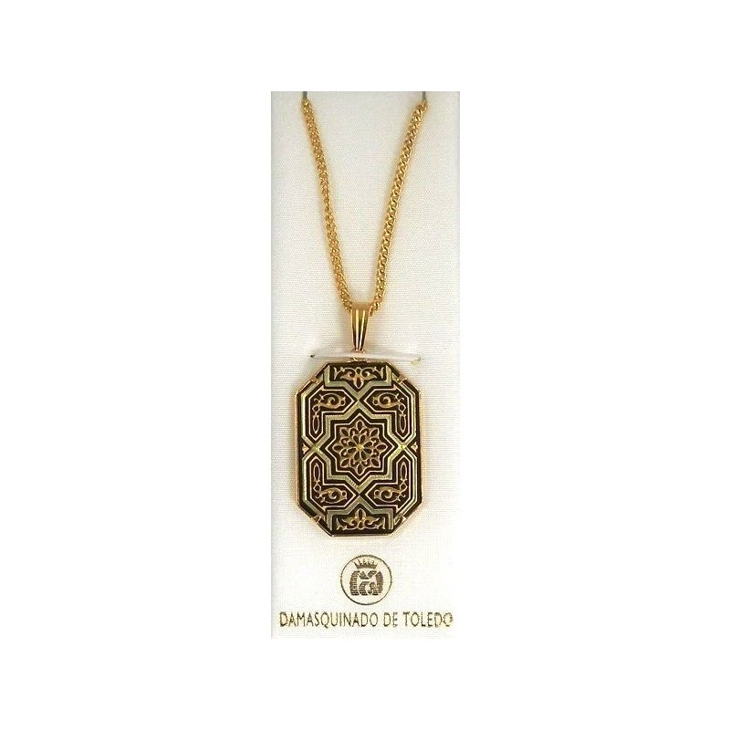 nd logo pendant octagon pendants shaped diamond gold