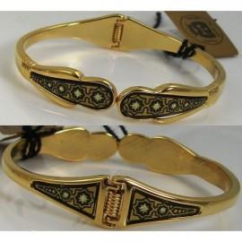 Damascene Gold Star Bracelet style 2083