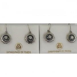 Damascene Golden Earrings (10) - Damascene Jewelry Store