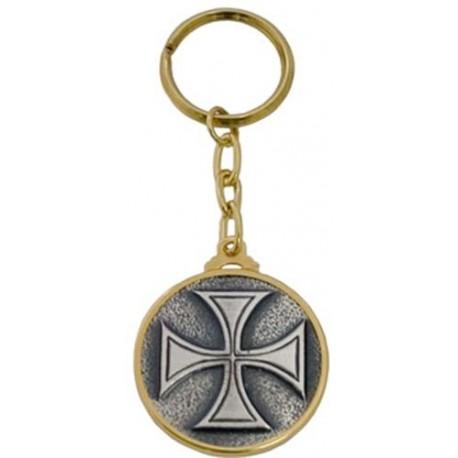Templar Order Cross Keychain